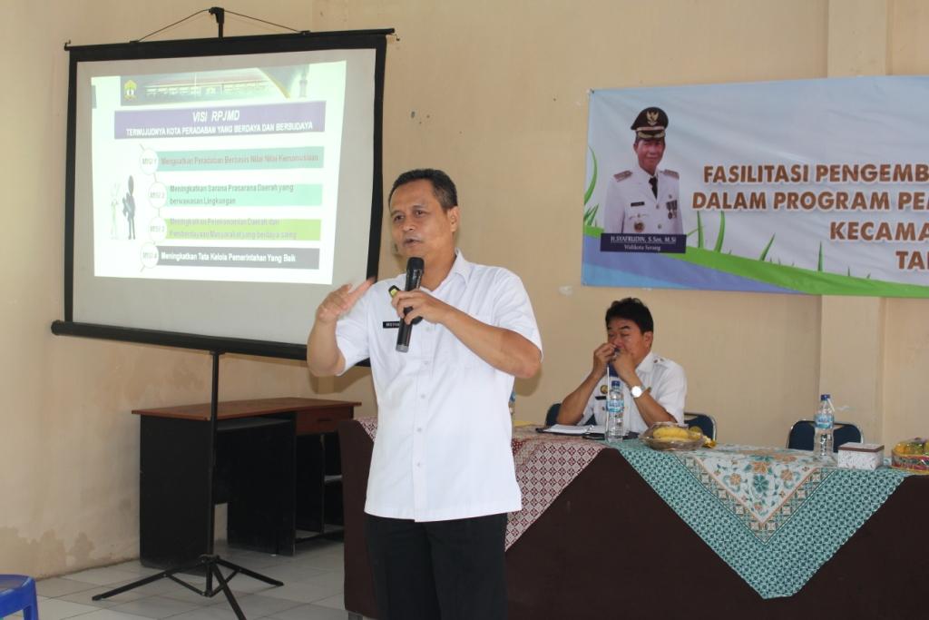 Fasilitasi Pengembangan Kota Layak Anak Kecamatan Kasemen