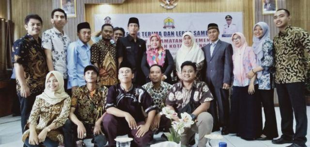 SERAH TERIMA DAN LEPAS SAMBUT CAMAT KECAMATAN KASEMEN PEMERINTAH KOTA SERANG 31-10-2019