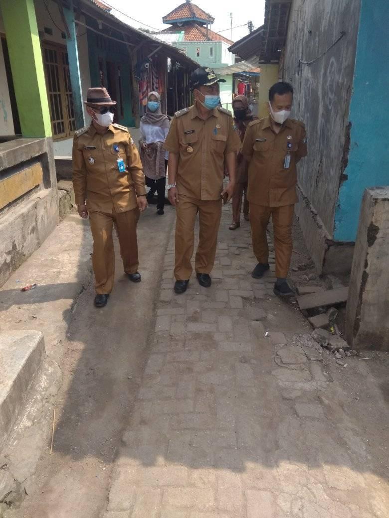 Monitoring Kampung Resik Lan Aman.